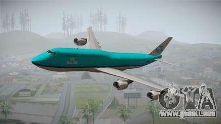 Boeing 747-8i KLM para GTA San Andreas