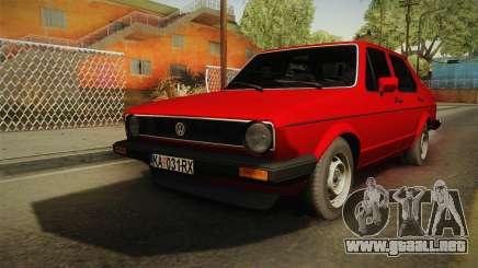 Volkswagen Jetta Mk1 седан para GTA San Andreas