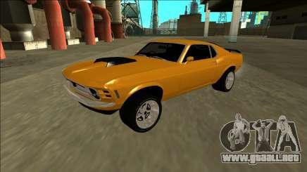1970 Ford Mustang Boss 429 para GTA San Andreas