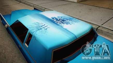 Nuevos trabajos de pintura para Remington para GTA San Andreas