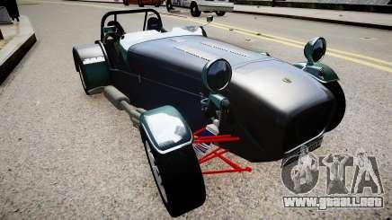 Caterham 7-er para GTA 4