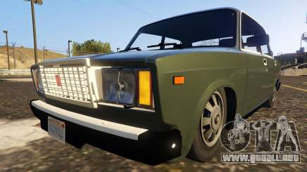 VAZ-2107 (Lada Riva) 1.3 para GTA 5