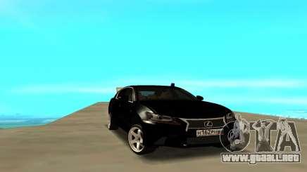 Lexus GS para GTA San Andreas