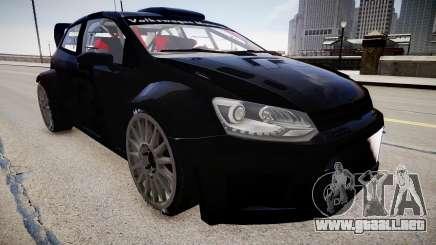 Volkswagen Polo WRC 2013 para GTA 4
