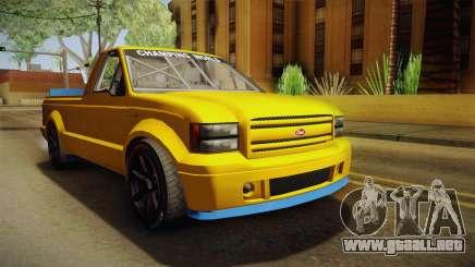 GTA 5 Vapid Sadler Racing para GTA San Andreas