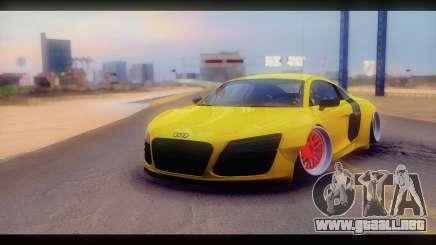 Audi R8 V10 Liberty Walk Performance para GTA San Andreas