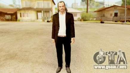GTA 5 Trevor Prologue in Black Suit para GTA San Andreas