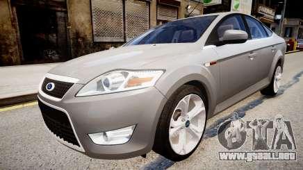 Ford Mondeo 2009 para GTA 4