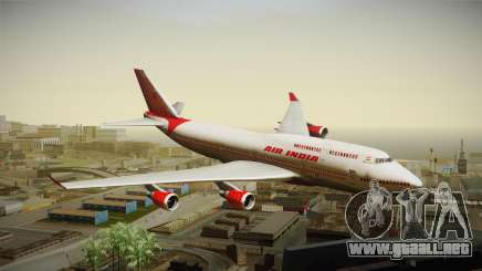 Boeing 747-400 Air India Khajuraho para GTA San Andreas