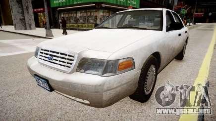 Ford Crown Victoria CVT Detective para GTA 4
