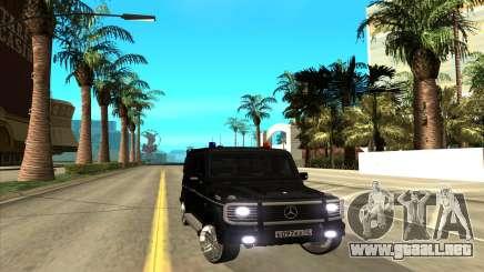 Mercedes-Benz G55 para GTA San Andreas