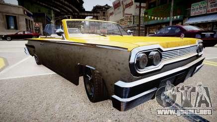 Voodoo Cabrio para GTA 4