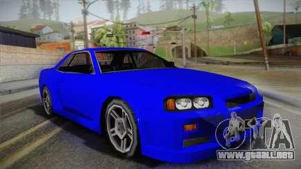 Nissan Skyline Lowpoly para GTA San Andreas