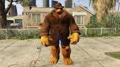 The Thing Incognito para GTA 5