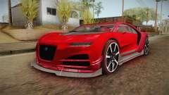 GTA 5 Truffade Nero Custom para GTA San Andreas