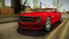 GTA 5 Albany Alpha Sedan IVF para GTA San Andreas