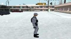 La Piel En Invierno (Ejército) 1.1 para GTA San Andreas