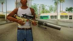 DesertTech Weapon 1 Camo Silenced para GTA San Andreas