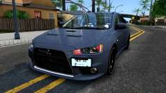Mitsubishi Lancer X Evolution para GTA San Andreas