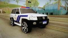 Nissan Patrol Y61 Police para GTA San Andreas