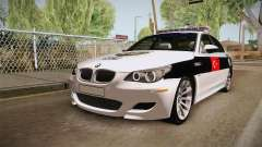 BMW M5 E60 Turkish Police para GTA San Andreas