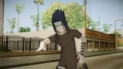 NUNS4 - Sasuke Genin Black Clothes Sharingan para GTA San Andreas