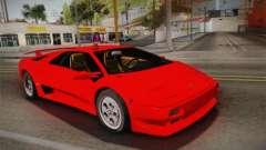 Lamborghini Diablo VT FBI 1995 para GTA San Andreas