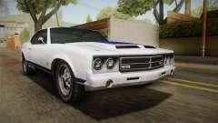 GTA 5 Declasse Sabre GT Painted Bumpers para GTA San Andreas