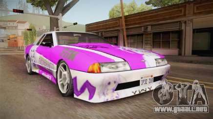 Elegy Nepgear para GTA San Andreas
