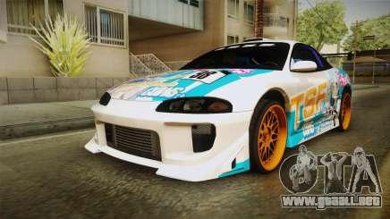 Mitsubishi Eclipse Tachibana Sylphynford Itasha para GTA San Andreas