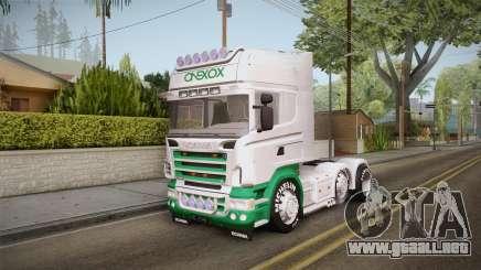 Scania R620 ONEXOX para GTA San Andreas