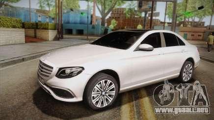 Mercedes-Benz E350e 2016 para GTA San Andreas