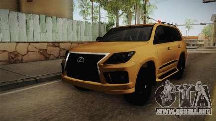 Lexus LX570 S para GTA San Andreas