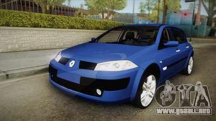 Renault Megane Hatchback Dynamique para GTA San Andreas