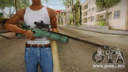 Battlefield 4 - SV-98 para GTA San Andreas