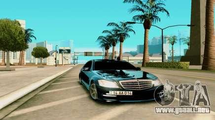 Mersedes-Benz S-class W221 para GTA San Andreas