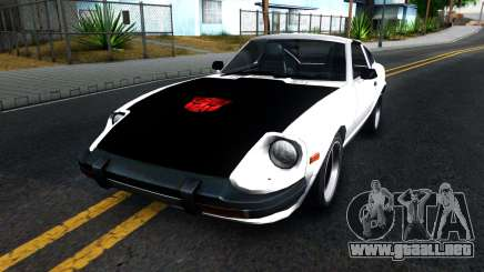Nissan 280ZX Transformers G1 Bluestreak para GTA San Andreas