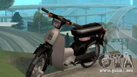 Honda Super Cub Modificado V. 2 para GTA San Andreas