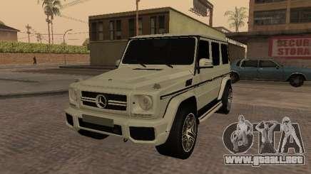 Mercedes-Benz G65 AMG Armenian para GTA San Andreas