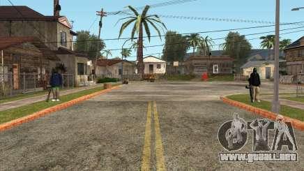 Los defensores de el Grove ST para GTA San Andreas