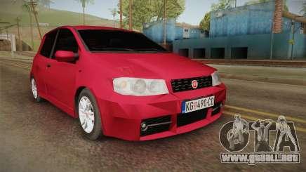 Fiat Punto Mk2 para GTA San Andreas