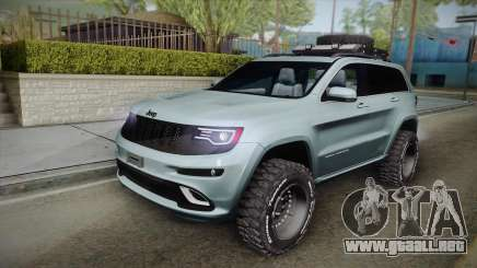 Jeep Grand Cherokee SRT Lifted para GTA San Andreas