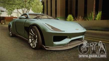 GTA 5 Dewbauchee Specter para GTA San Andreas