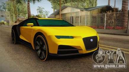 GTA 5 Truffade Nero Custom IVF para GTA San Andreas