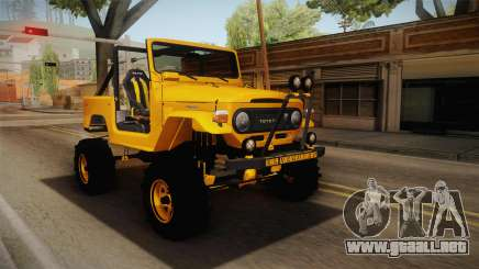 Toyota Land Cruiser Fj40 1978 Off Road para GTA San Andreas