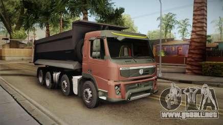 Volvo FMX Euro 5 8x4 Dumper Low para GTA San Andreas