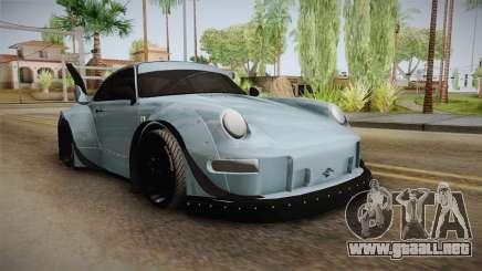 Porsche 993 RWB Rotana para GTA San Andreas