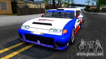 Flash Rally Paintjob para GTA San Andreas