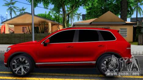 Volkswagen Touareg 2015 para GTA San Andreas left