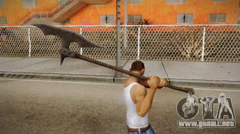 The Elder Scrolls V: Skyrim - Executioner Axe para GTA San Andreas